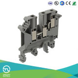 Electrical Wiring Connector Jut1-4/1-2 Screw Type Dinrail Terminal Blocks