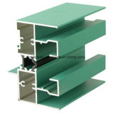 Green Color Thermal Insulation Aluminium Profile for Aluminium Window