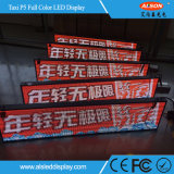 Outdoor Full Color Taxi Top LED Display Panel for Advertising