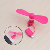Factory Mobile Phone Micro USB Mini Fan for iPhone