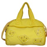 Fashionable Canvas Lady′s Handbags with Strap (BS8001)