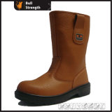 Half-Knee Cut Rigger Boot with Genuine Leather (SN1292)