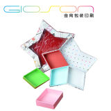 Star Shaped Paper Board Jewellery Packaging Box