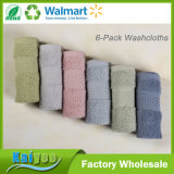 Cotton Hand Towel Sets for Home, Outdoor and Travel Use, 6-Pack 6 Color