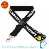 Fashion 3D Screen Printed Flat Polrester Lanyard