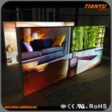 Frameless LED Fabric Light Box