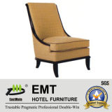 Fashion Design with Perfect Shape Hotel Sofa Chair (EMT-SC06)