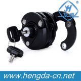 New Anti Theft Lock Foldable Chain Bicycle Lock with Key