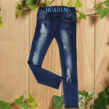 European Style Top Quality Women′s Ladies Fashion Ripped Jeans (HDLJ0019)