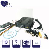 4-CH Mobile Digital Video Recorder with Two SD Cards Built-in 3G, 4G, WiFi GPS Modules