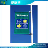 Custom Vinyl Advertising Street Light Pole Banner Flags (M-NF26P07029)