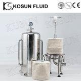 Stainless Steel Sanitary Lenticular Membrane Beer Filter