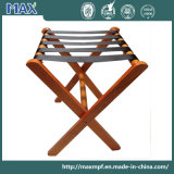 Customization Folding Furniture Hotel Bedroom Tray Stand Solid Wooden Luggage Rack