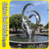 Modern Public Landscape Stainless Steel Outdoor Abstract Sculpture