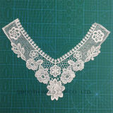 Embroidered Cotton Crochet Necklace Collar Lace