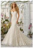 2016 Mermaid Lace Beaded Bridal Wedding Dresses Wd2820