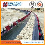 Heavy-Duty High Capacity Curved Belt Conveyor