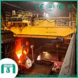 2016 Yz Overhead Crane for Foundry Cap. 125/32 Ton