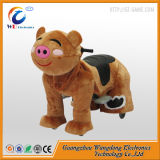Coin Operated Plush Animal Electric Scooter