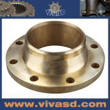 CNC Machined Bronze Flanges OEM Chinese Motorcycle Parts