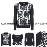 Lady′s Winter Pure Cashmere Knitwear with Aztec Patterns