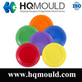Plastic Round Plate Injection Tooling