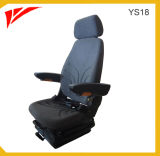 Grammer Construction Machinery Seat with Headrest and Armrest