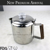 Stainless Steel Stovetop Percolator Classic Espresso Maker