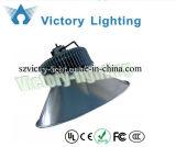 3 Yrs Warranty 120 Viewing Thin Design Bridgelux COB 150W LED High Bay Light