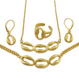 Stainless Steel Promotion Gold Jewelry Gift Set
