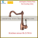Rose Golden Sanitary Ware Kitchen Sink Faucet Mixer Tap