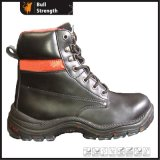 Genuine Leather with Transparent PU Outsole Safety Boot (SN1364)