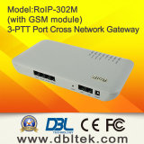 Cross-Network Gateway Radio/VoIP/GSM/Built in Sip Server (RoIP302M)