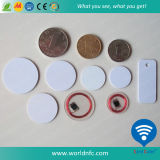 Plastic Waterproof RFID Token Coin Tag