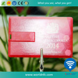 Retractable PVC 2GB/4GB/8GB/16GB/32GB/64GB USB Flash Drive Disk Card