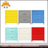 2 Drawers Steel Mini Bedside Cabinet