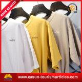 100% Cotton Black T-Shirt with Custom Logo