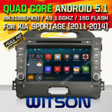 Witson Android 5.1 System Car DVD for KIA Sportage (W2-F9539K)