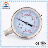 Steel Small Oil Pressure Gauge China Glycerin Filled Pressure Gauge