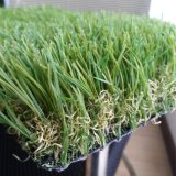 Green Artificial Grass Imitates The Yarn of Spring Nature Grass
