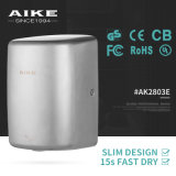 AK2803E Hand Dryer Suppliers CE UL RoHS Hospital Quiet Small 304 Stainless Steel Hand Dryer