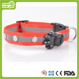LED Nylon Gemstone Collar Pet Collar