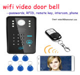 WiFi Video Door Phone Doorbell with RFID Password Intercom Function