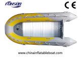 PVC or Hypalon Fishing Boat with Al Floor (FWS-D430)