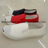Boild Color Men Injection Canvas Shoes Casual Shoes Wholesale (FFZL1101-03)