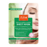 Zeal Natural and Youth Sheet Mask Face Masque with Green Tea and Bamboo