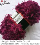 Fancy Polyester Feather Fake Fur Yarn Jd9697