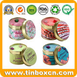 Metal Tin Cans for Candle with Different Colors and Scents
