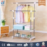 Extended Single-Pole Garment Rack Supplier Adjustable Clothes Rcak
