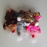 Custom Plush Toy Baby Plush Pacifier Holder Baby Plush Toy